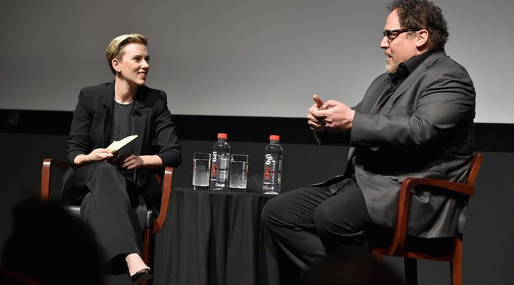 Scarlett Johansson y Jon Favreau