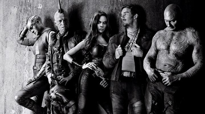 El grupo de 'Guardianes de la Galaxia Vol. 2' al completo.