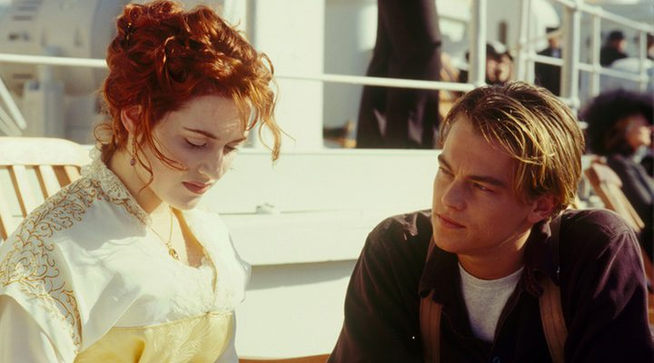 Kate Winslet y Leonardo Dicaprio en 'Titanic'