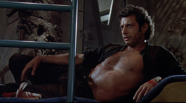 Jeff Goldblum en 'Parque Jurásico'