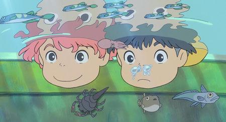 Tropecientas imágenes de 'Ponyo en el acantilado'