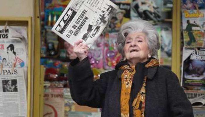 Amparo Pacheco, Sagrari en 'Cuéntame cómo pasó' ha muerto a los 92 años