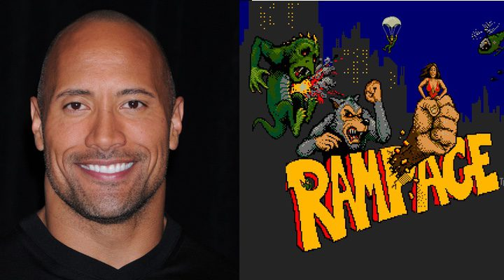 Dwayne Johnson y 'Rampage'