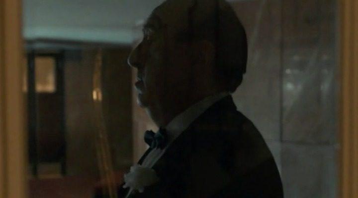 José Ángel Egido como Alfred Hitchcock en 'El Ministerio del Tiempo'