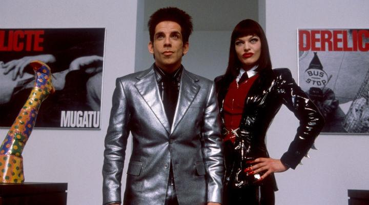 Ben Stiller y Milla Jovovich en 'Zoolander'