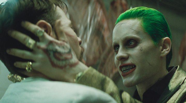 Jared Leto como el Joker besó a Ike Barinholtz