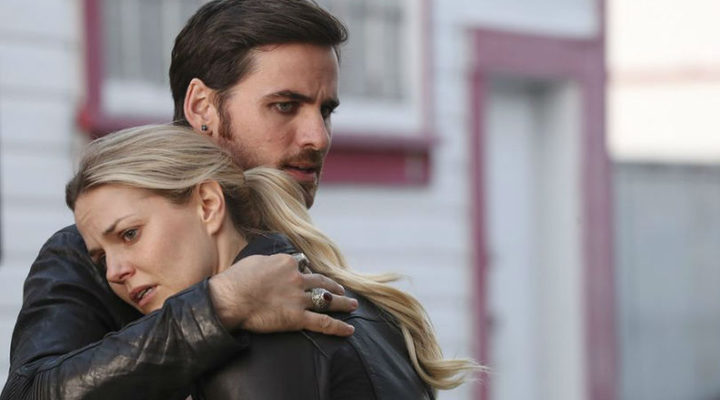 Emma Swan y Hook, 'Once upon a time'