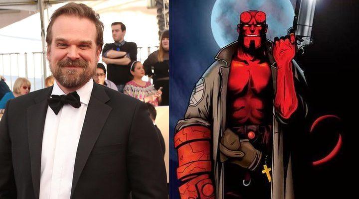 David Harbour interpretará al demonio rojo.