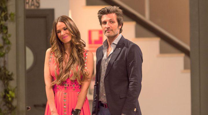 Vanesa Romero y Jesús Olmedo en 'la que se avecina'