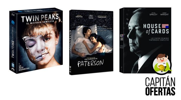 Ofertas Paterson, Twin Peaks, House of cards