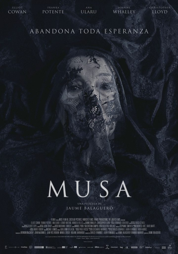 Póster de 'Musa', la nueva pelícual de terror de Jaume Balagueró