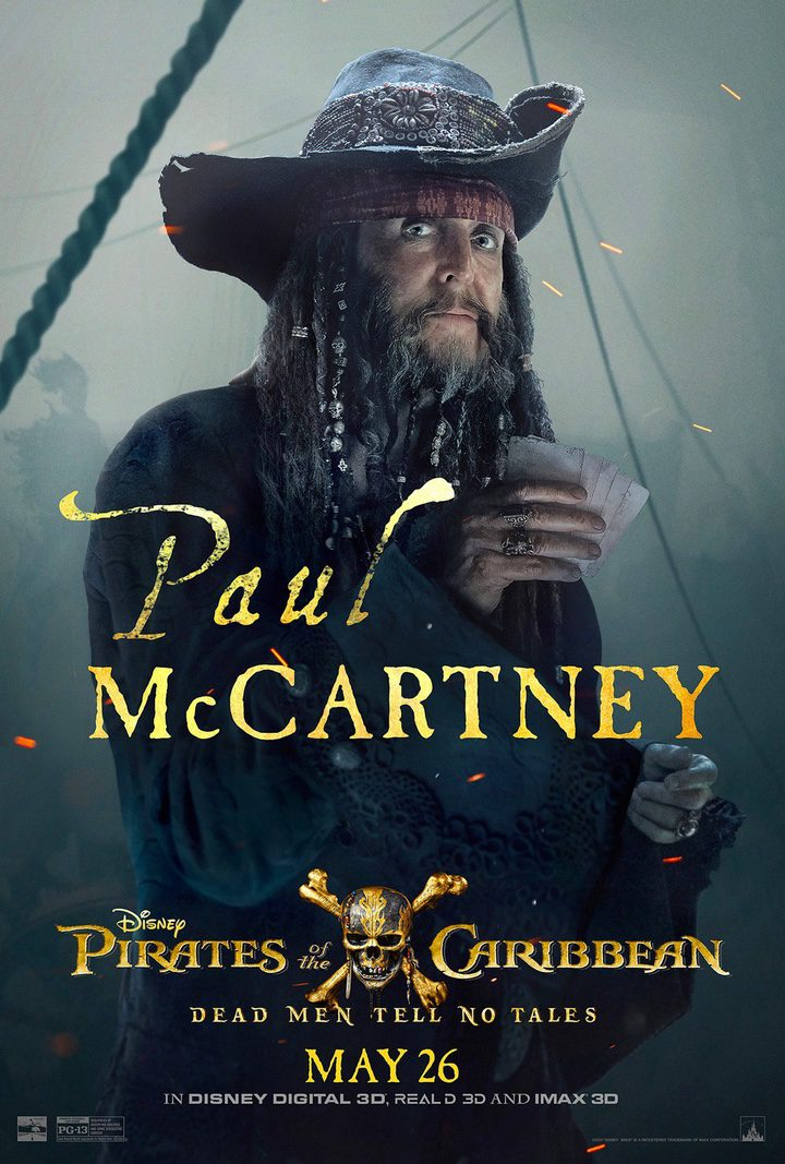 Paul McCartney en Piratas del caribe