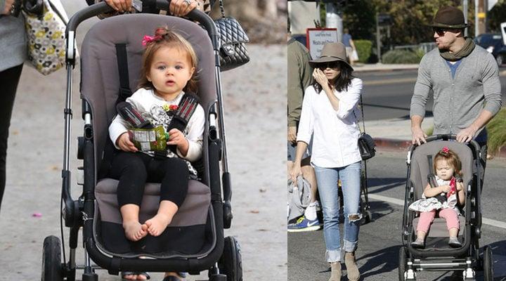 Everly, hija de Channing Tatum y Jenna Dewan