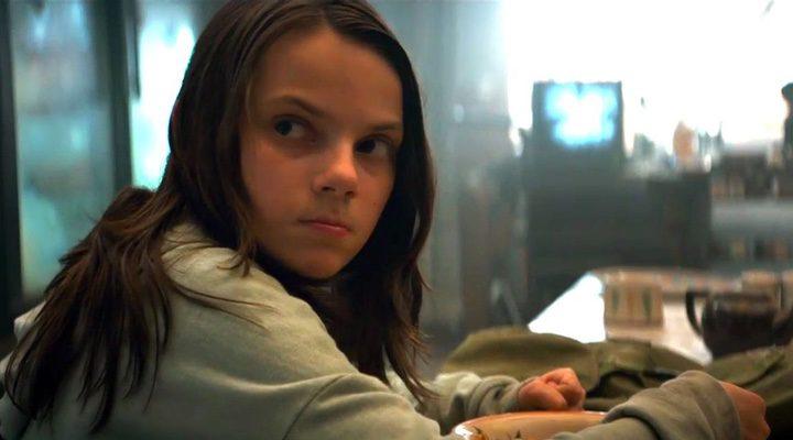 Dafne Keen en 'Logan'