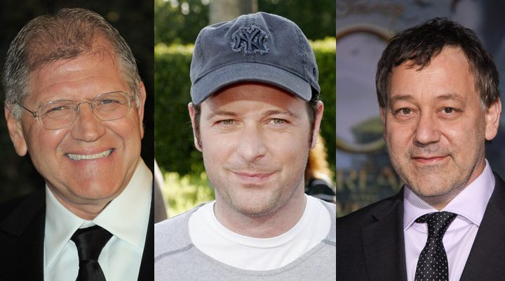 De izquierda a derecha: Robert Zemeckis, Matthew Vaughn y Sam Raimi.