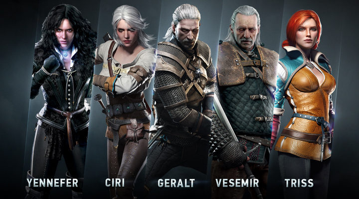'The Witcher' Personajes