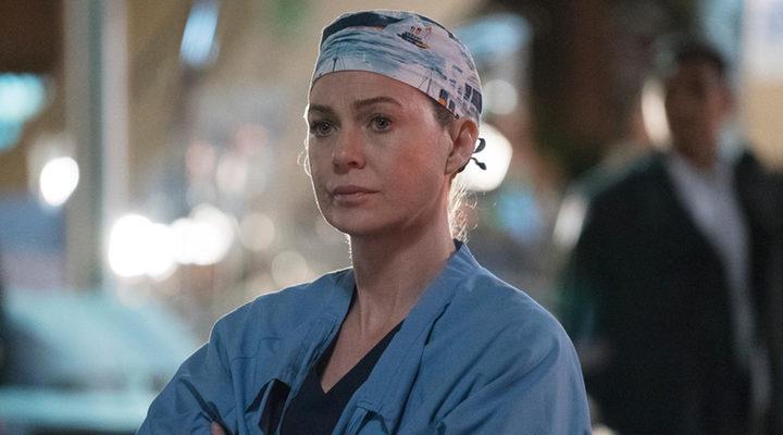 Ellen Pompeo en 'Anatomía de Grey'