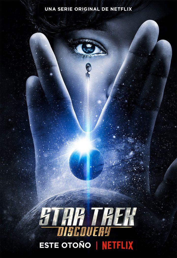 Póster oficial de 'Star Trek: Discovery'