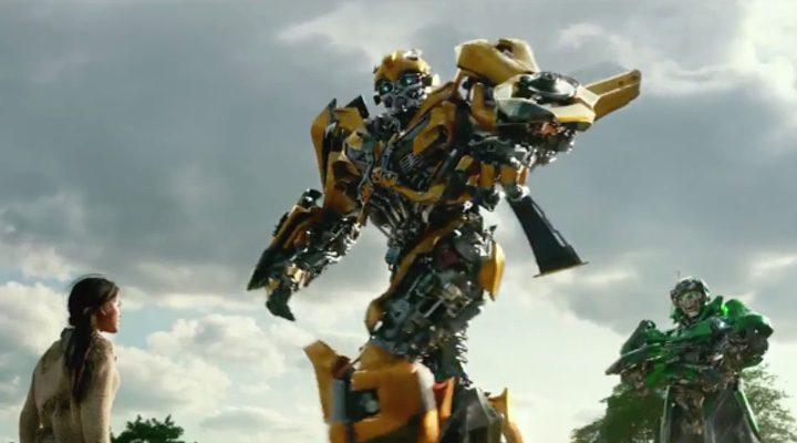 Bumblebee en el nuevo clip de la 5ª entrega de 'Transformers'