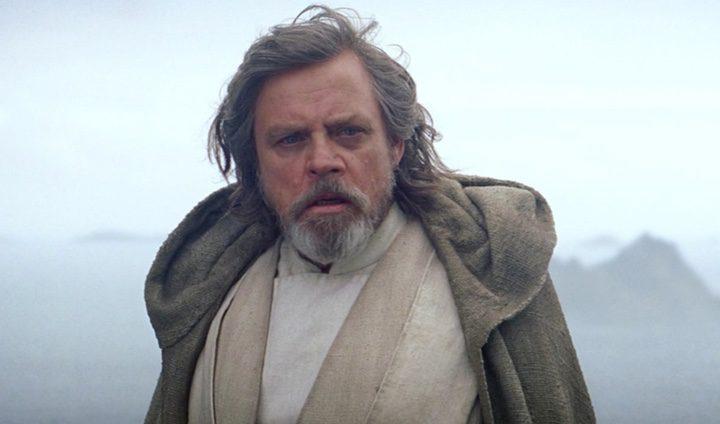 Fotograma de Luke Skywalker en El Despertar de la fuerza