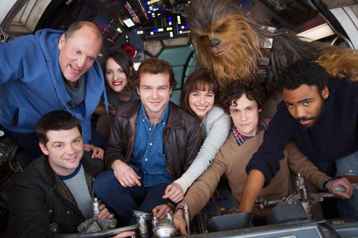 Foto del casting de el spin-off de Han Solo