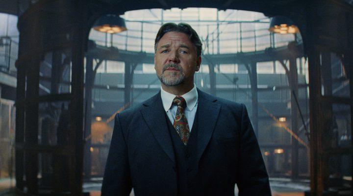 Russel Crowe como el Dr. Jekyll en 'La momia'