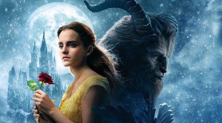 Póster 'La bella y la bestia'