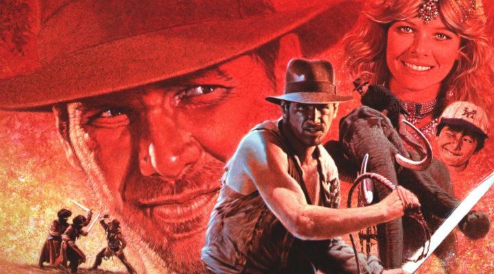Arte promocional de 'Indiana Jones y el Templo Maldito'