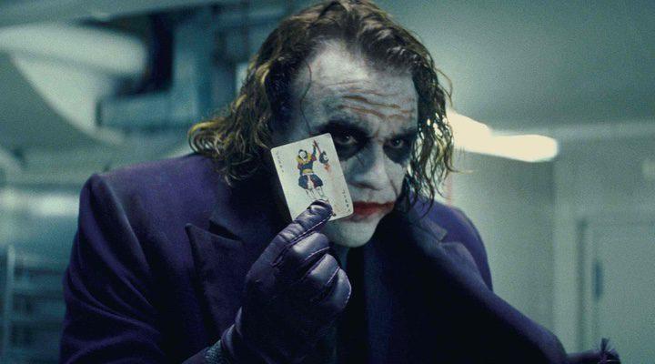 El Joker en 'El Caballero Oscuro'