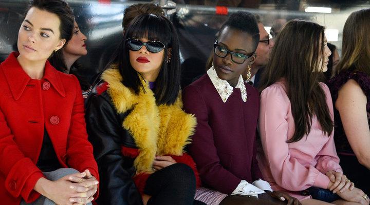 Rihanna y Lupita Nyong'o