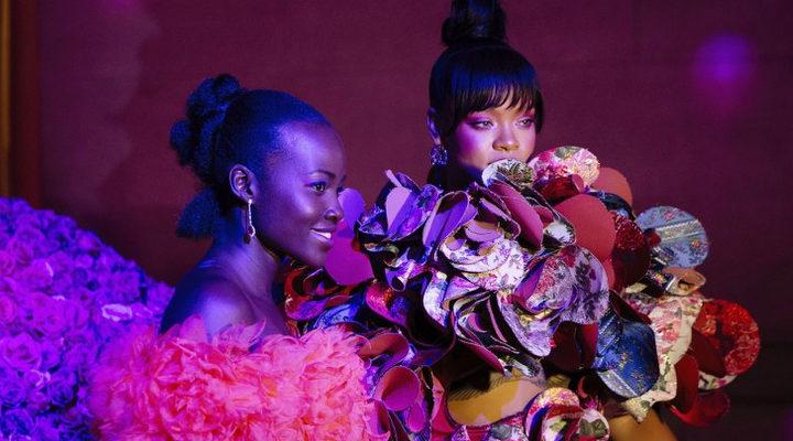 Lupita Nyong'o y Rihanna