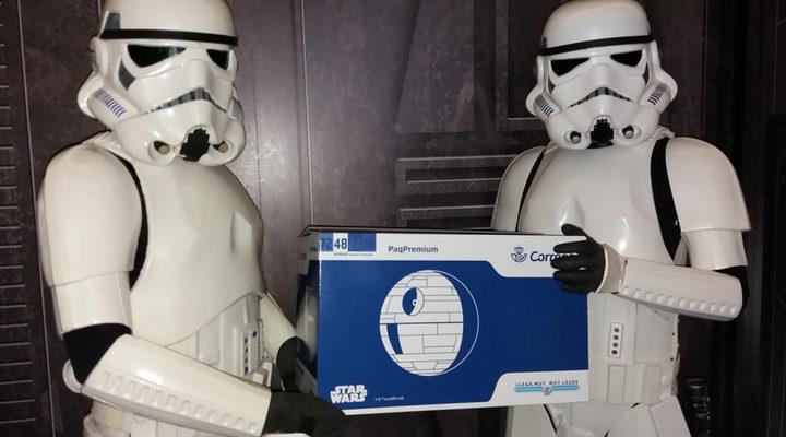 Correos y Star Wars