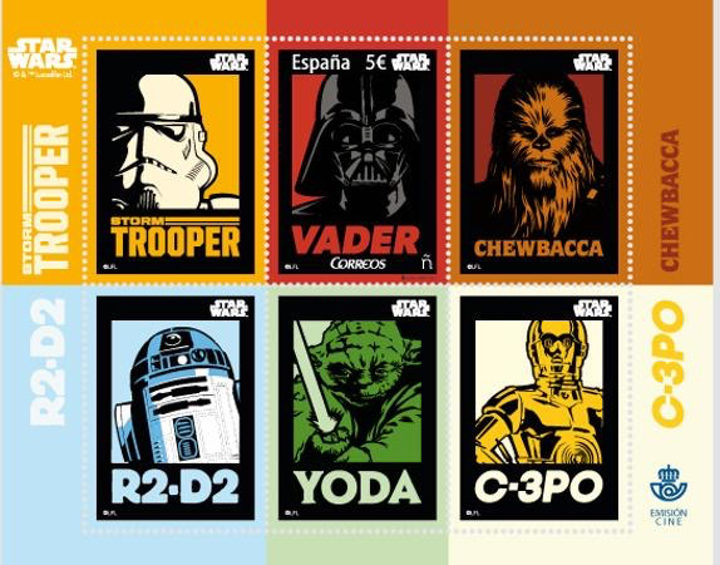 Sello Star Wars