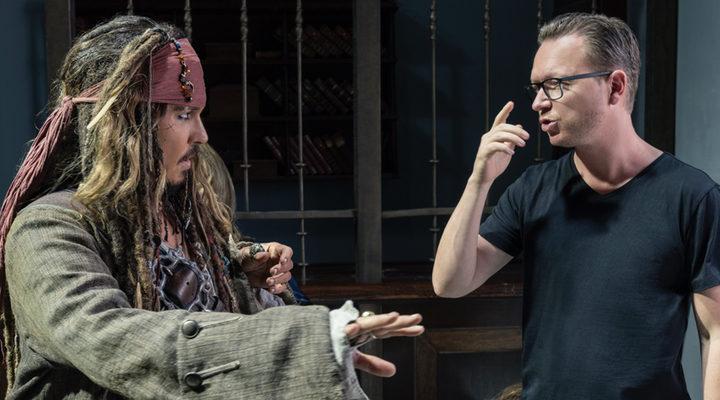 Johnny Depp y Espen Sandberg
