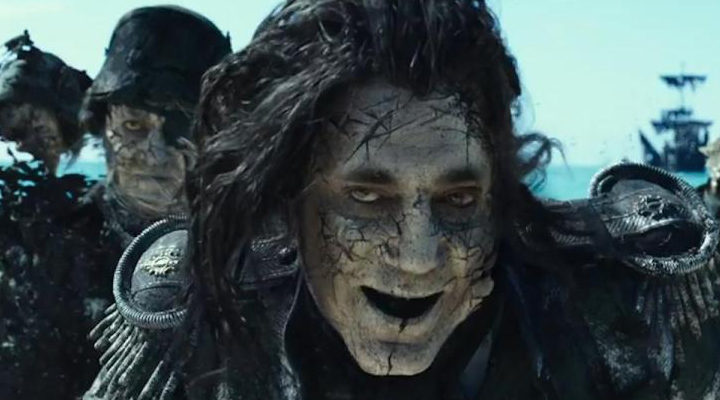 Javier Bardem in Pirates of the Caribbean 5