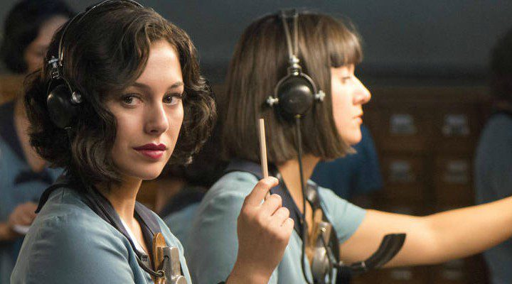Blanca Suárez en 'Las chicas del cable'
