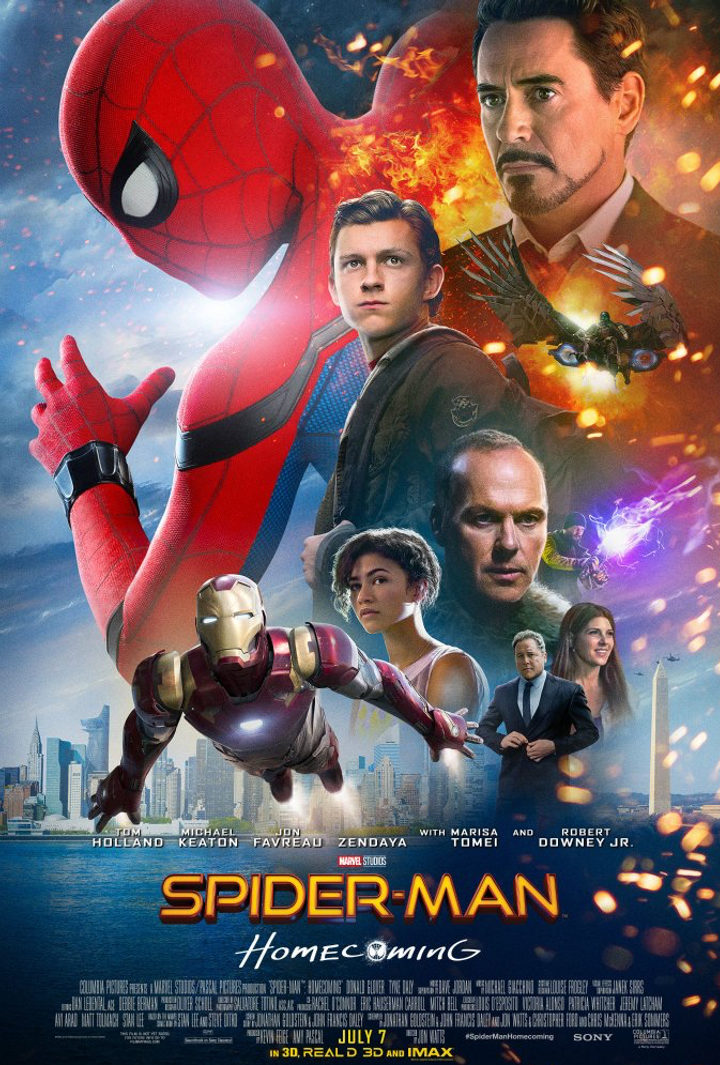 Póster 'Spider-Man Homecoming'