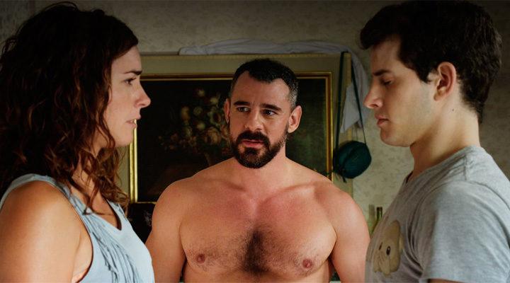 María Cotiello, Sergio Torrico y Alex Villazán en 'Como la espuma'