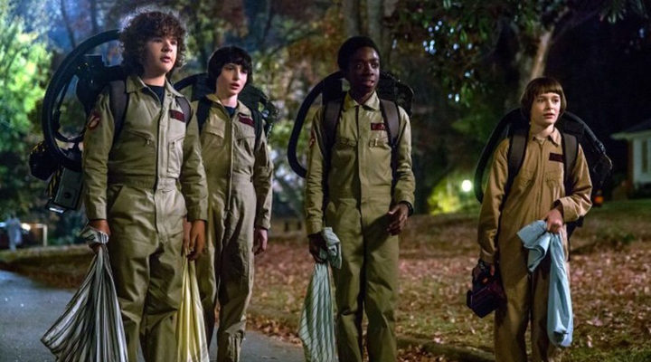 Fotograma segunda temporata 'Stranger Things'