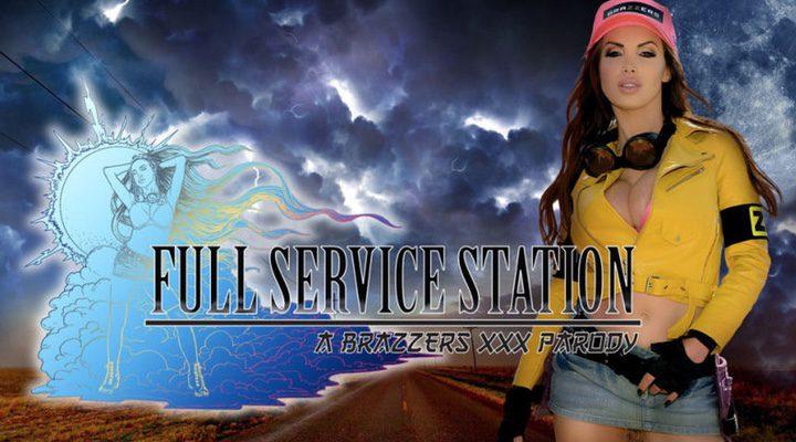 póster de la parodia porno de Final Fantasy XV