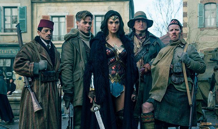 Chris Pine, Gal Gadot y compañía en Wonder Woman