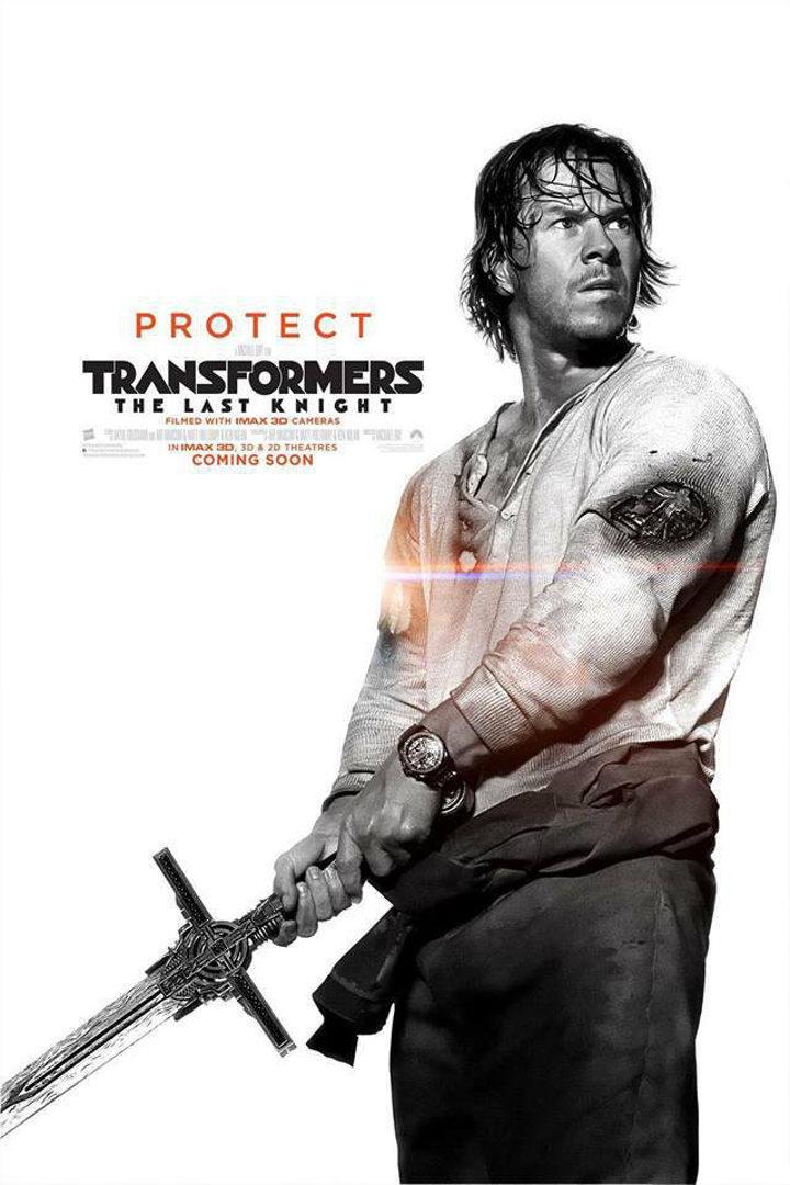 Póster de 'Transformers: El último caballero'