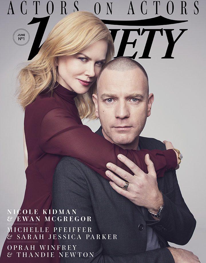 La portada de Variety protagonizada por Nicole Kidman y Ewan McGregor