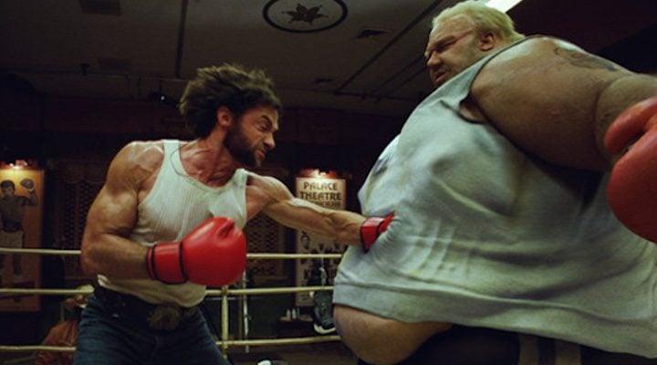 Escena de 'X-Men Orígenes: Lobezno' donde aparece Blob