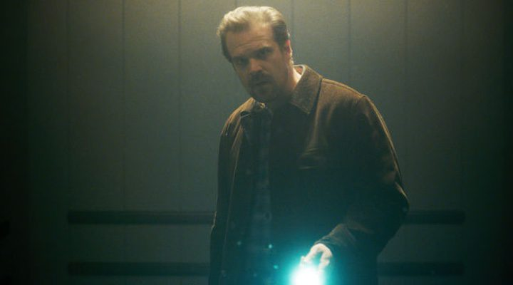 David Harbour en 'Stranger Things'