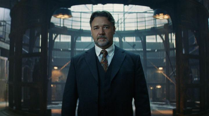 Russell Crowe como el Dr. Jekyll