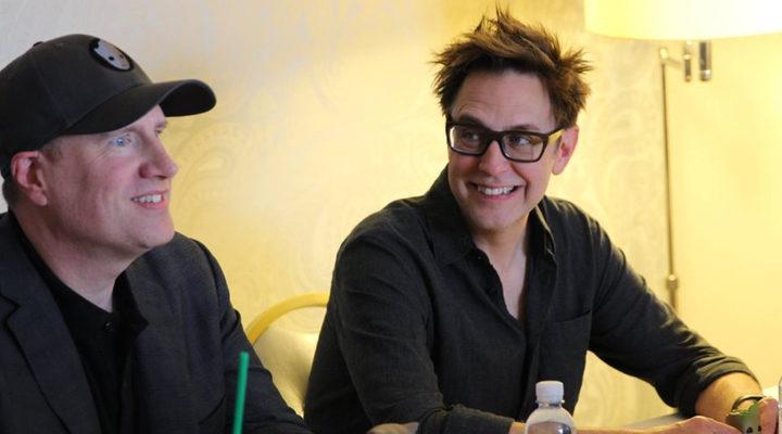 'Kevin Feige y James Gunn'