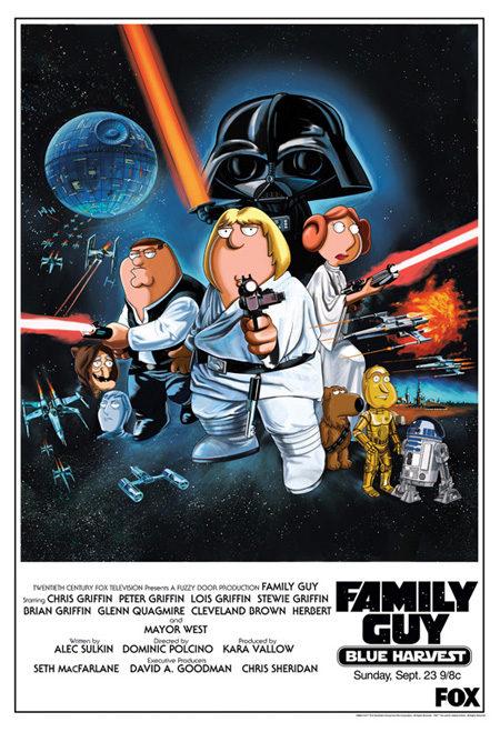 Divertídisimo cartel promocional de 'Padre de familia'