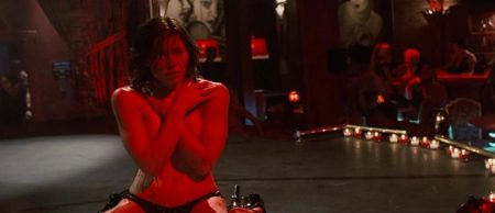 Jessica Biel desnuda en 'Powder Blue'