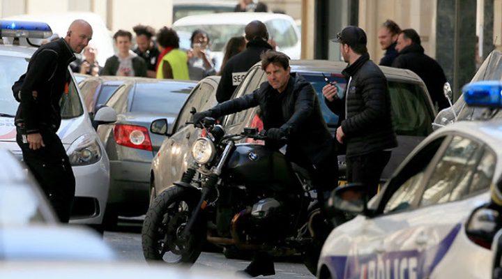 Tom Cruise rodando en París